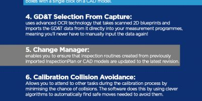 Infographic: 10 PC-DMIS Features You Should Be Using